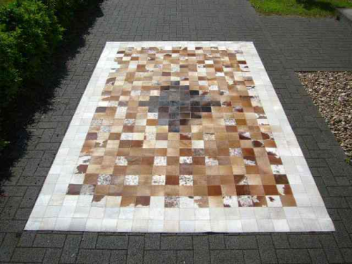 Kuhfell Teppich Casa 416 200x300 Cm Togibaba Limited